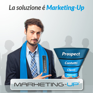 Agenzia di Pubblicità e Marketing Brand-up, con Marketing-Up