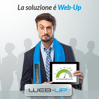 Agenzia di Pubblicità e Marketing Brand-up, con Web-Up